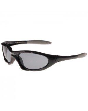 Xloop kinder zonnebril zwart grijs