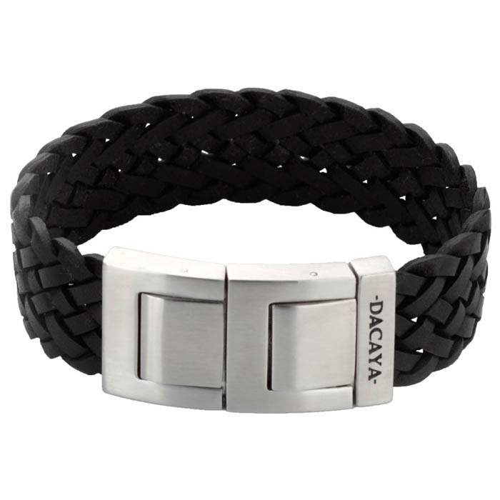 Dacaya armband Off Road Smooth Black 20mm F112120