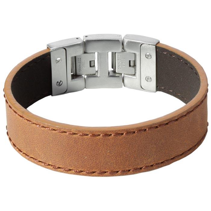 Dacaya armband Rebel Edge Brown 20mm F101320