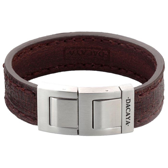 Dacaya armband Timber Brown 20mm F113220