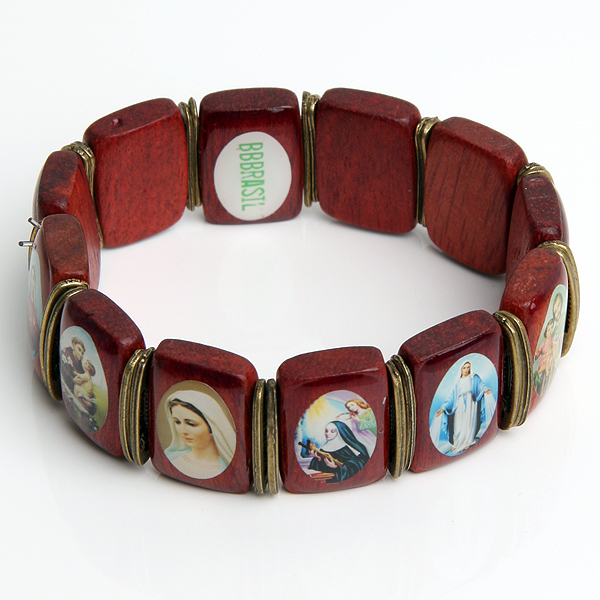 Dames armband BBBrasil Hout Bruin
