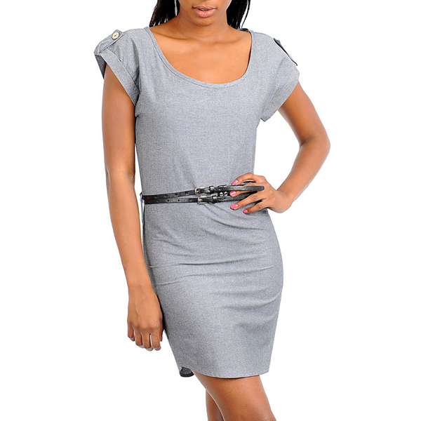 Dames jurk Tamia Grey