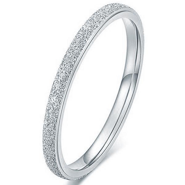 Dames ring LGT Jewels Stardust Edelstaal Zilverkleurig