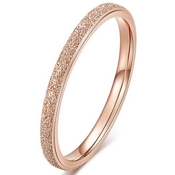 Dames ring LGT Jewels Stardust Rose Verguld Edelstaal
