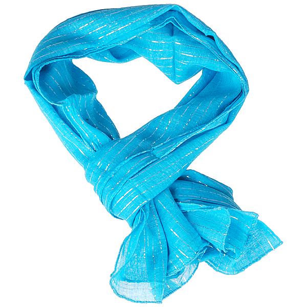 Dames Sjaal vierkant Blauw