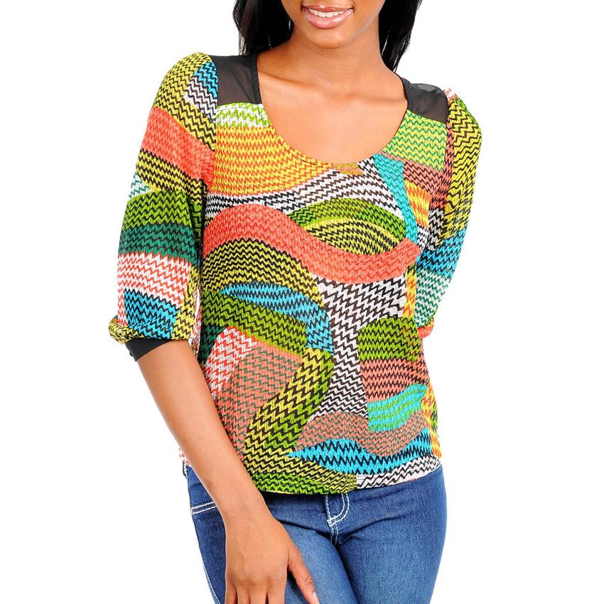 Dames Top Multicolor