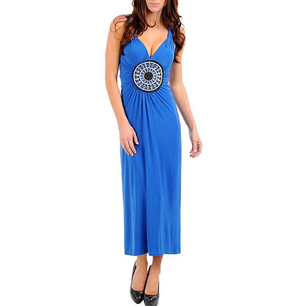 Dania Maxi Dress Blue