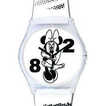 Disney kinder horloge Wrist Art Minnie White 25810