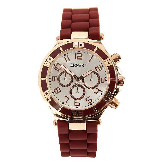Ernest dames horloge Rose Bordeaux