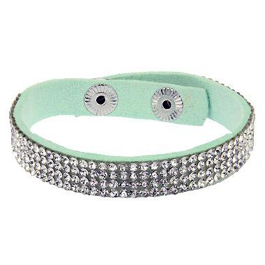 Fashion dames armband Glitter Mint bz-523