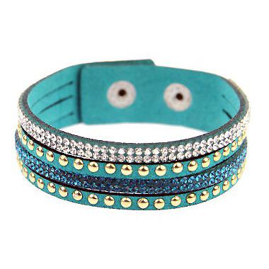 Fashion dames armband Mariette turquoise bz-520