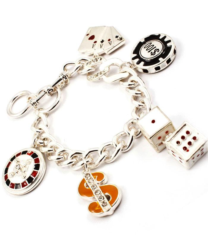 Fashion dames armband Pokerface
