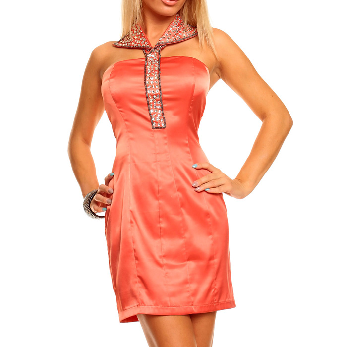 Fashion jurk Elegance Salmon