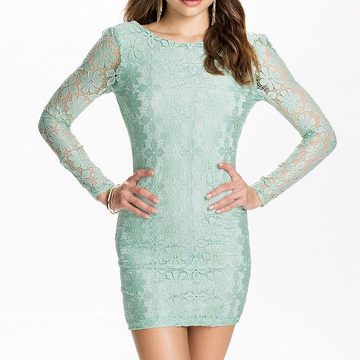 Fashion Jurk Turquoise M9243-2
