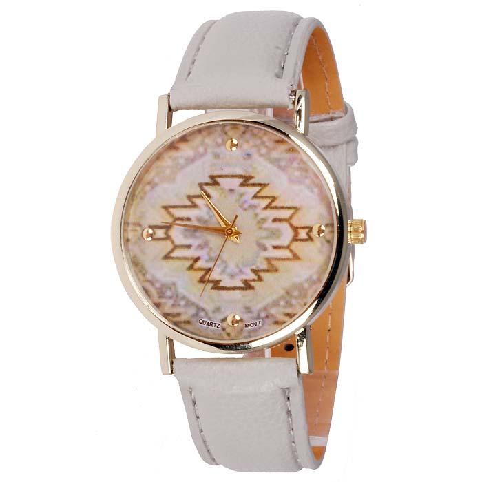 Geneva Fashion horloge Aztec Grey