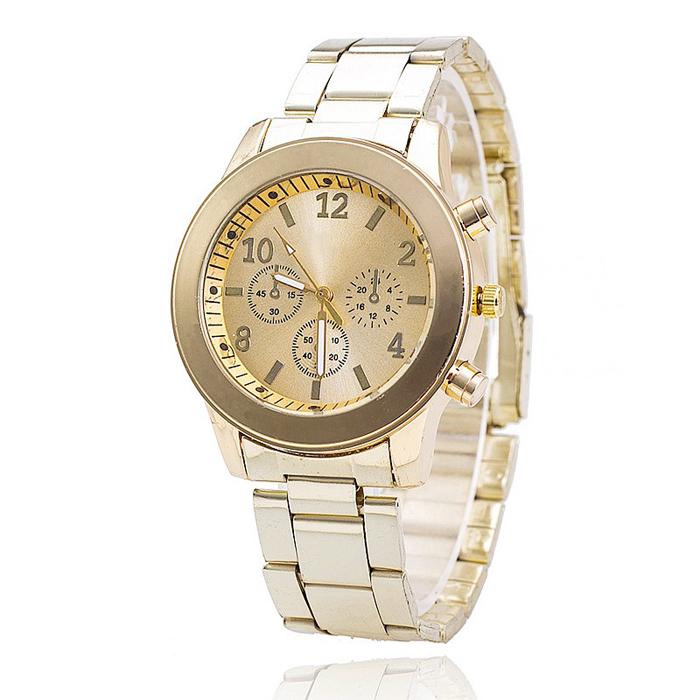 Geneva Fashion horloge Chrono Gold