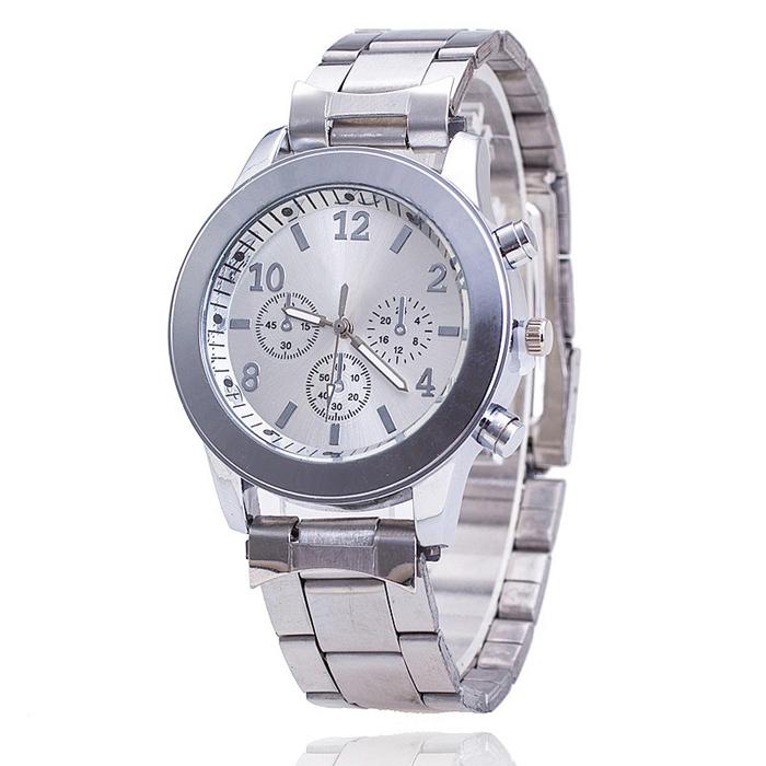 Geneva Fashion horloge Chrono Silver