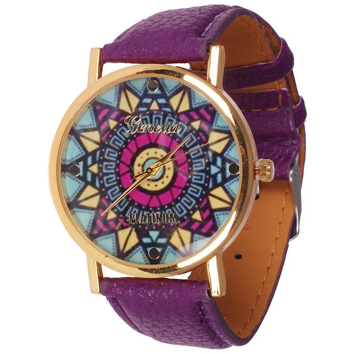 Geneva fashion horloge Ibiza Purple