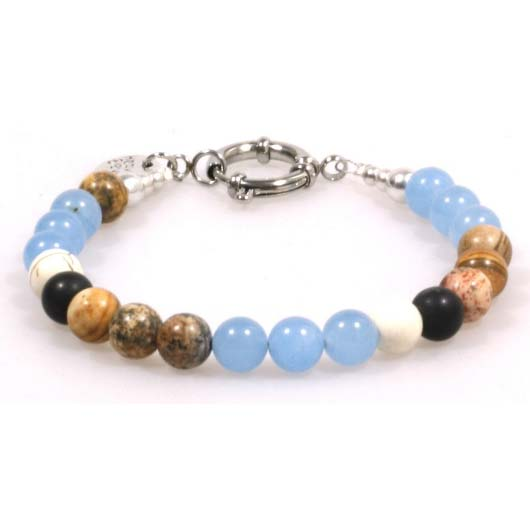 Heaven Eleven heren Armband colored stones MB126 thumbnail