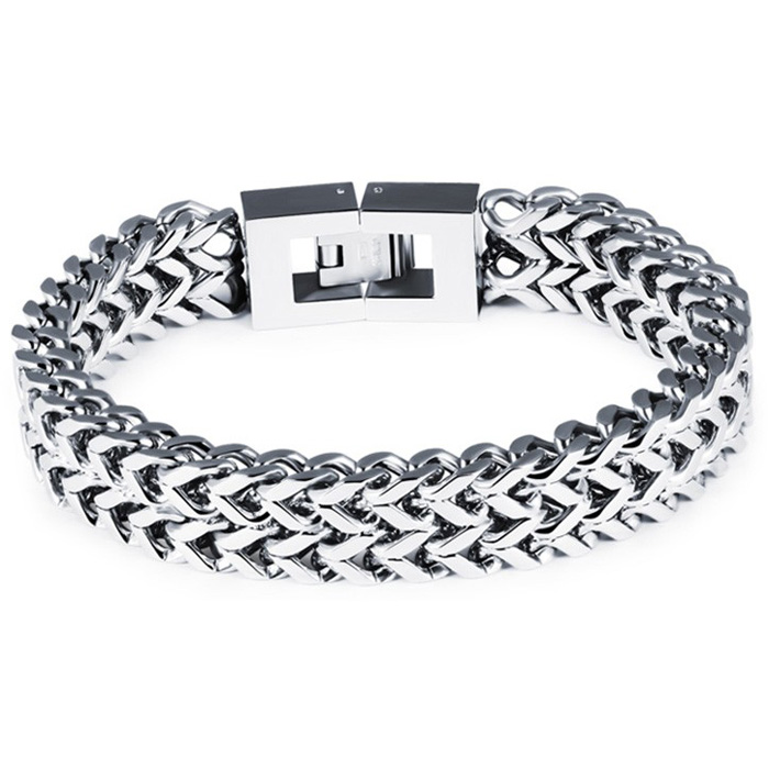 Heren armband Edelstaal Link chain