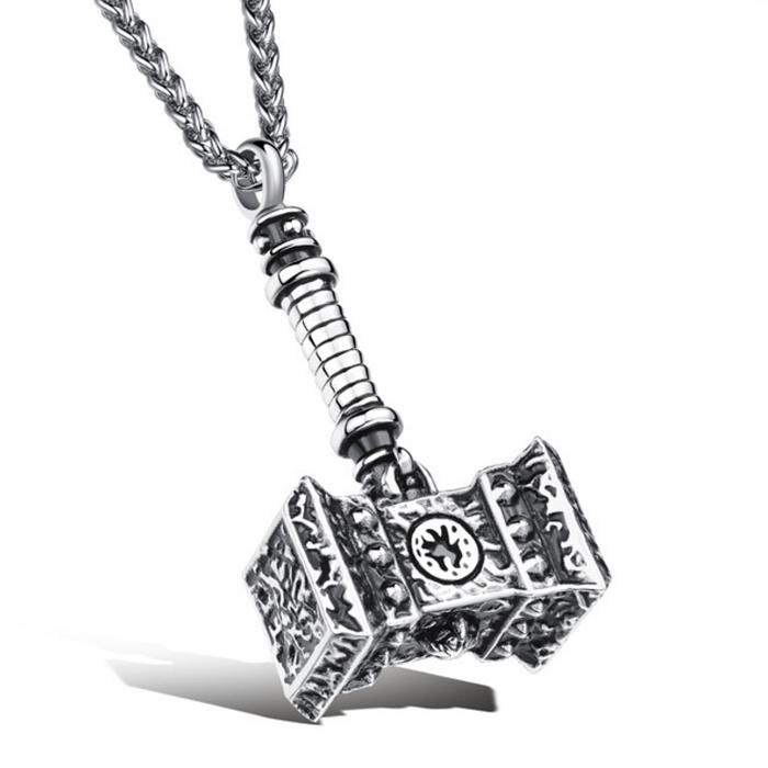 Heren hanger Edelstaal Hammer of Thor