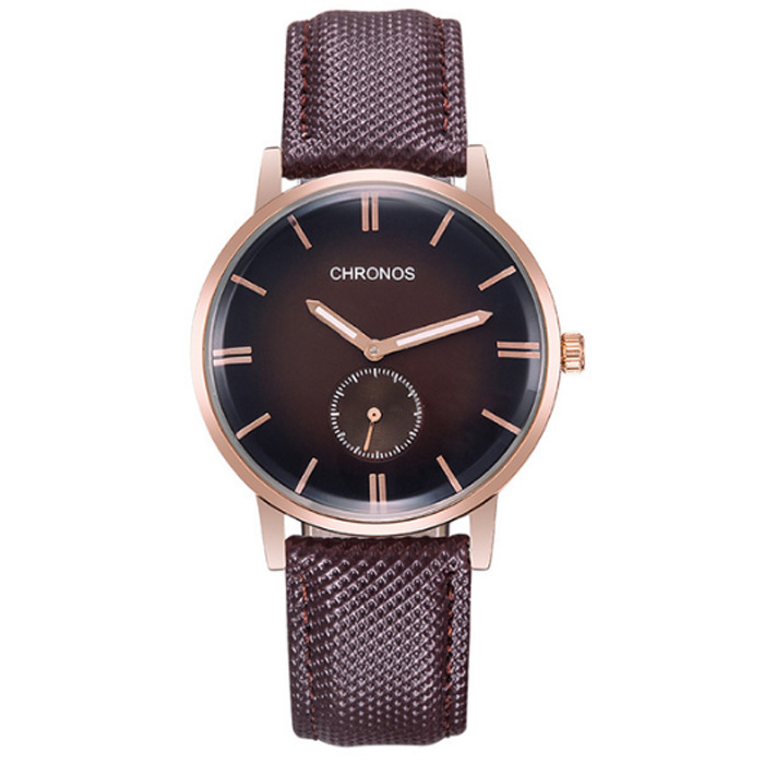 Heren horloge Chronos Brown Rose