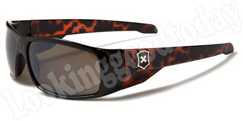 Heren zonnebril Xloop Army Brown
