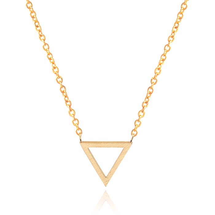 Hippe dames ketting Triangle Rose