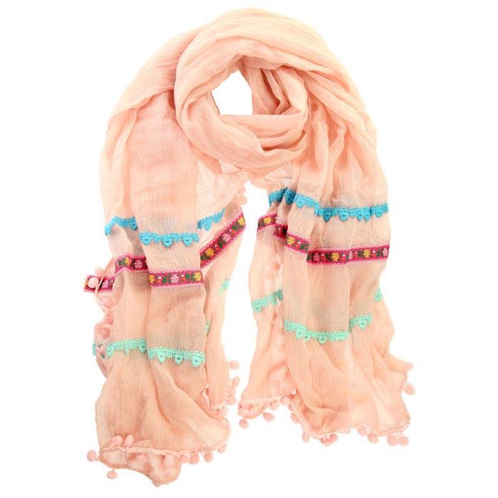 Ibiza sjaal Pink