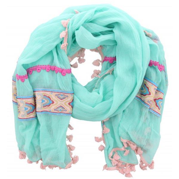 Ibiza Sjaal SylvieTurquoise