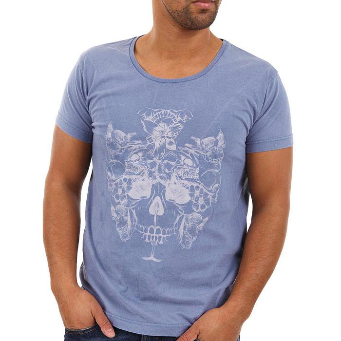 Jack & Jones T-shirt camo Skull