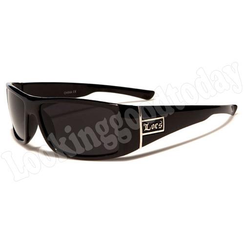 Kinder zonnebril Locs Zwart
