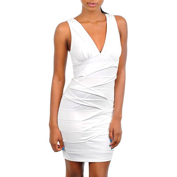Korte jurk Ivory Niki