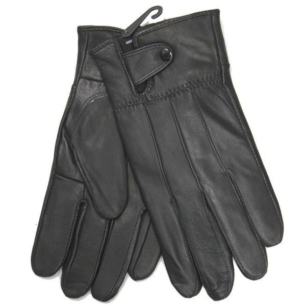Leren handschoenen Zwart HD-42