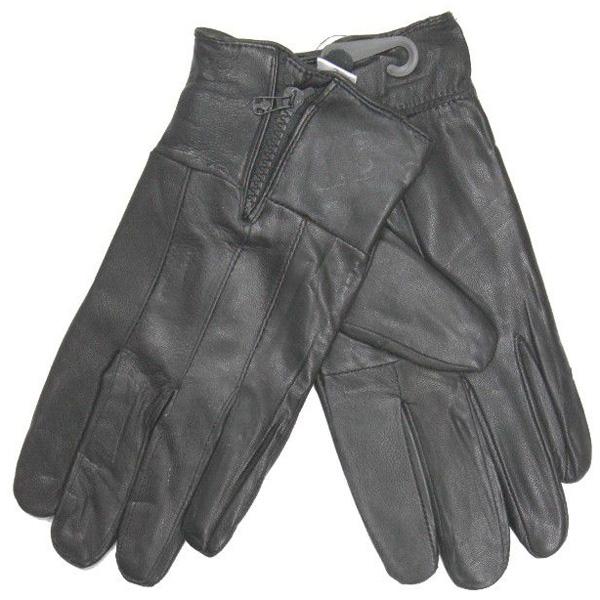 Leren handschoenen Zwart HD-43