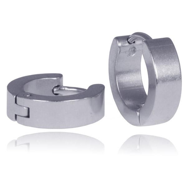 LGT Jewels Creolen Edelstaal Silver