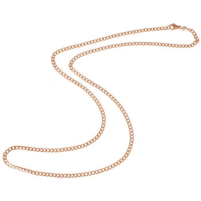 LGT Jewels Cubaanse koord ketting Rose 3mm-50cm