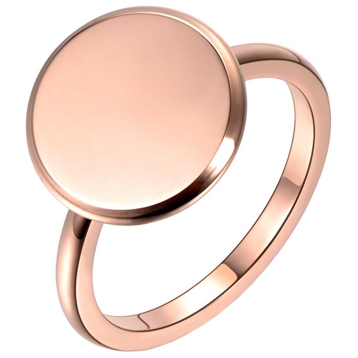 LGT Jewels Dames ring Edelstaal Rose Volle Maan