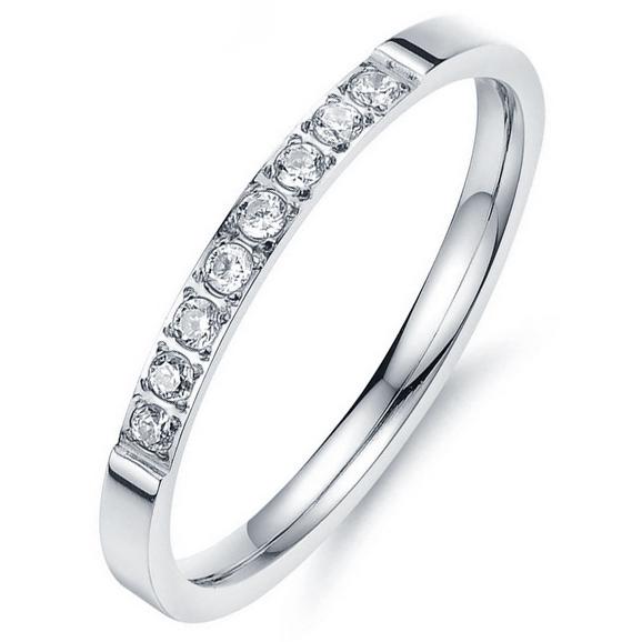 LGT Jewels dames ring Edelstaal Zirkonia