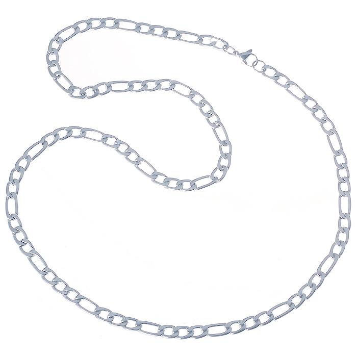 LGT Jewels Figaro Edelstaal ketting 6mm-56cm
