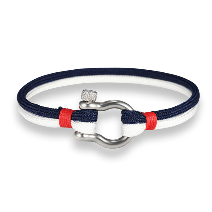LGT Jewels Marine armband Navy Blue White
