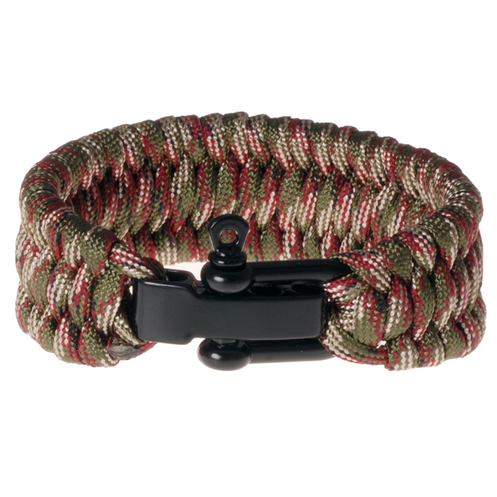 LGT Jewels Paracord armband Green Red