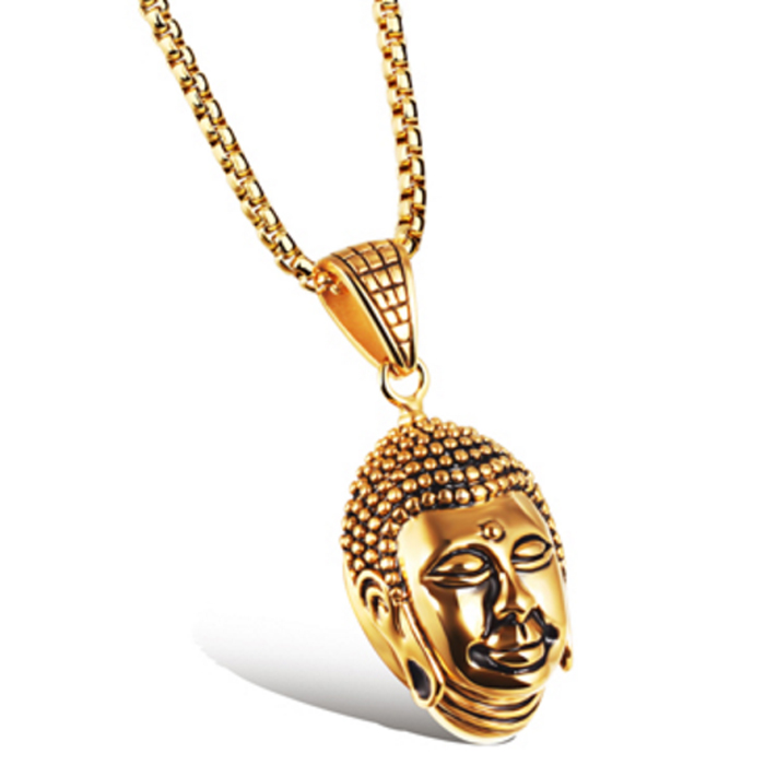 Mendes Buddha Kettinghanger Goud
