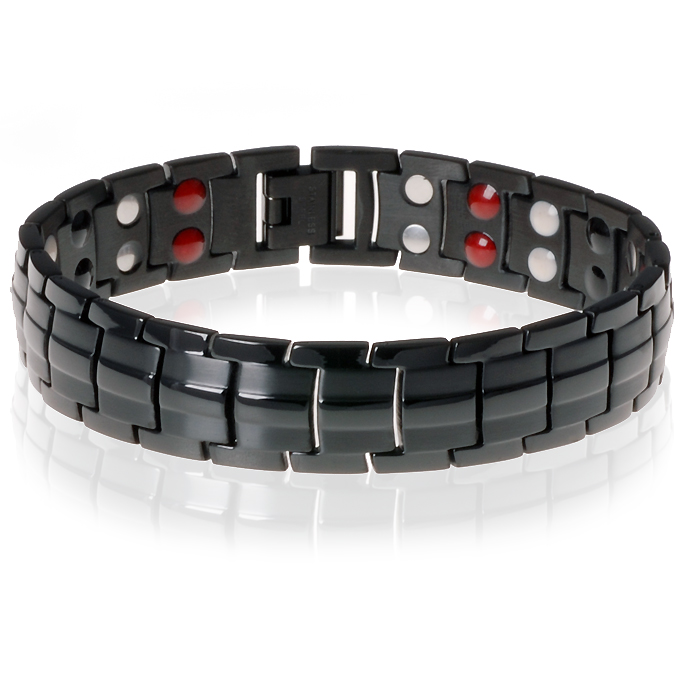 Mendes magnetische armband Keramiek Black