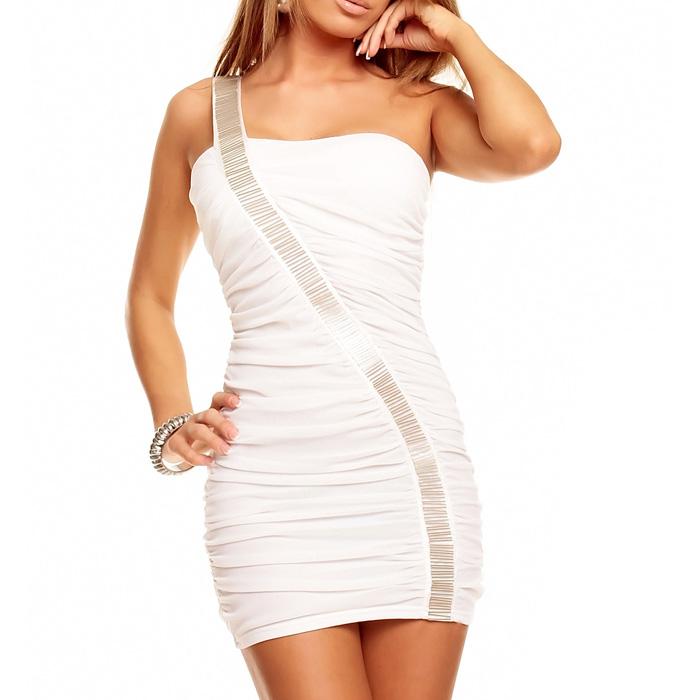Mini jurk Best Emilie Wit