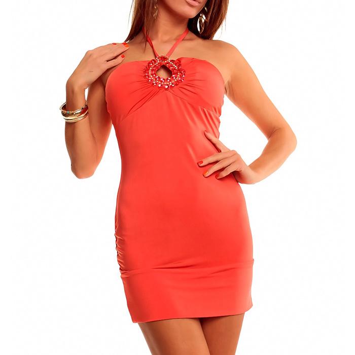 Mini jurk Soraya Roze