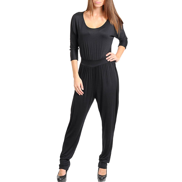 Mink Jumpsuit Black