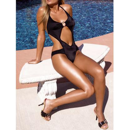 Monokini Miami Zwart