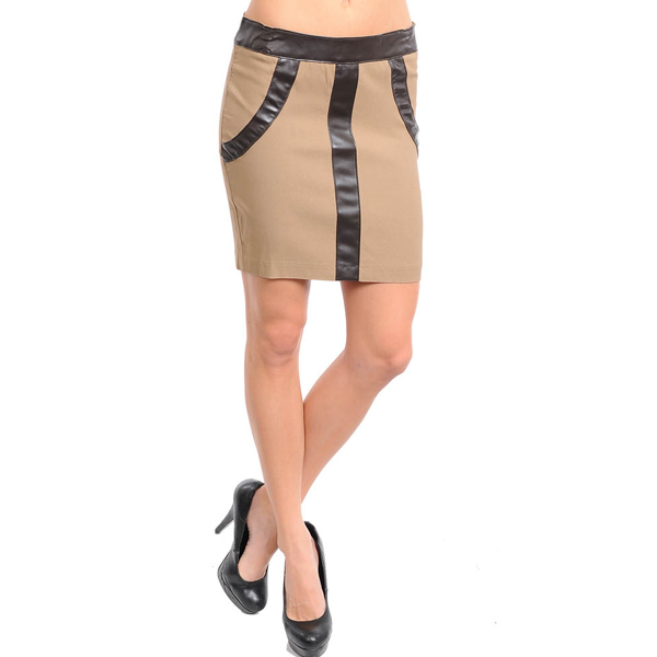 Must Have dames rok Khaki