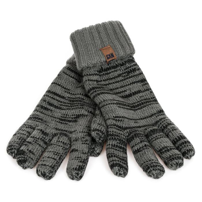 No Excess Heren Handschoenen Grijs
